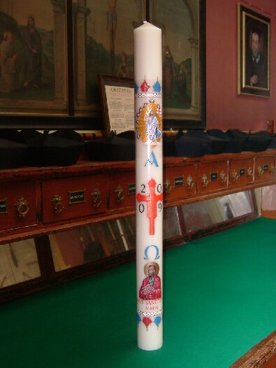 paschal candle - the oxford oratory