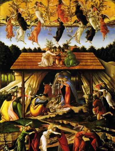 Mystical Nativity Sandro Botticelli, c.1500
