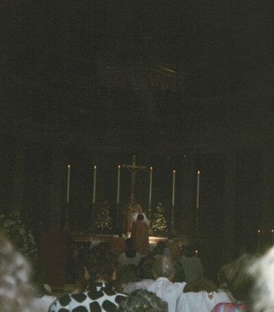 Fr D9 First Mass