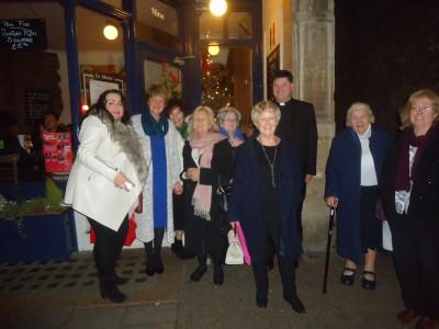 women's oratory Christmas  gatherine
