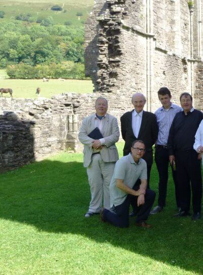 Brothers at Llanthony Priory