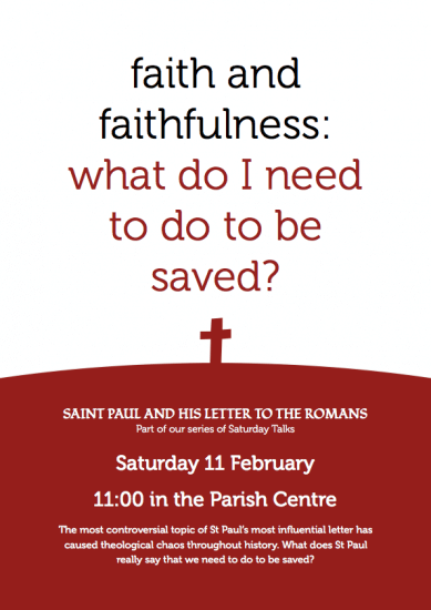 Faith and Faithfulness Poster