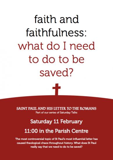 Faith and Faithfulness Poster